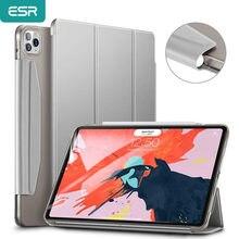 Esr para ipad ar 4 caso para ipad pro 11/12.9 caso para ipad 8th gen caso capa traseira com fecho de fechamento para ipad pro 11 caso 2020