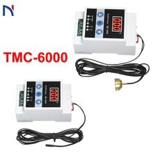 TMC-6000 110-240V Rail Temperature Regulator Digital Temperature Controller Thermostat Refrigeration Heating Temperature
