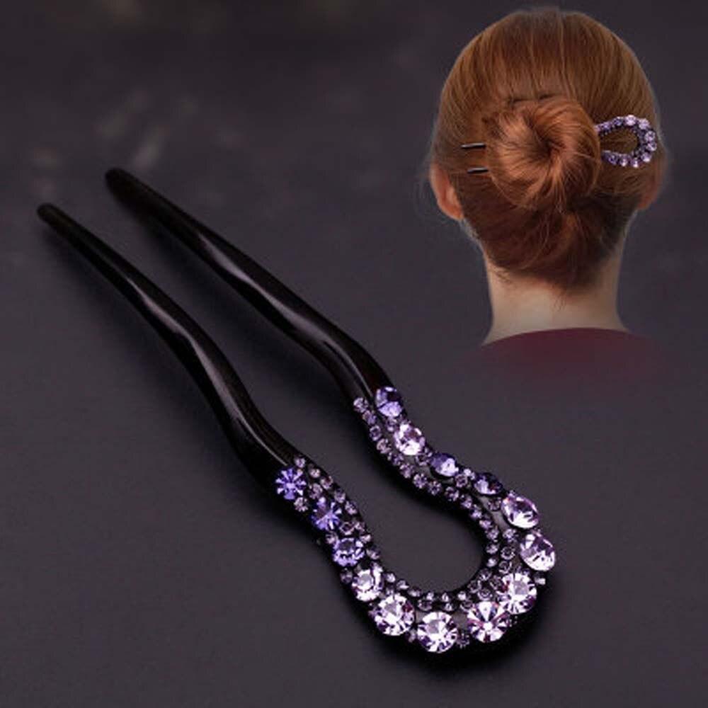 Multi Verwenden Wellenförmige U-Pin Haar Disc Haar Flechter Salon Clip Schwarz Lockiges Haar Kamm Kamm Haar Platte Haar pferdeschwanz Haar Band StylingTool