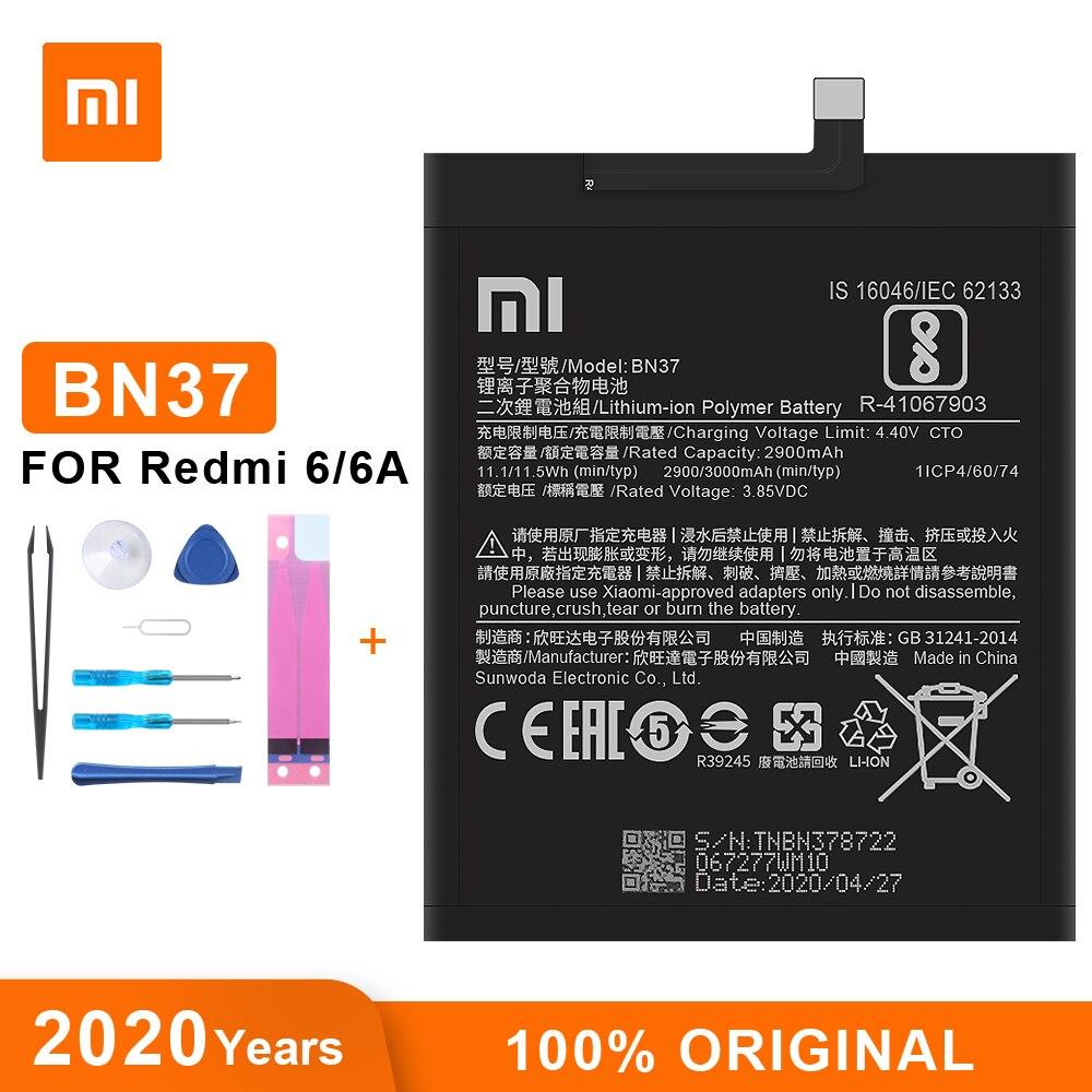 Оригинальный аккумулятор Xiao Mi BN37 3000 мАч для Xiaomi Redmi 6 Redmi6 Redmi 6A высококачественные сменные батареи для телефона|Аккумуляторы для мобильных телефонов|   | АлиЭкспресс