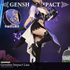 Anime Genshin Impact Lisa Game Suit Lovely Dress Uniform Cosplay Costume Halloween Party Outfit For Women Girls 2020 NEW 1