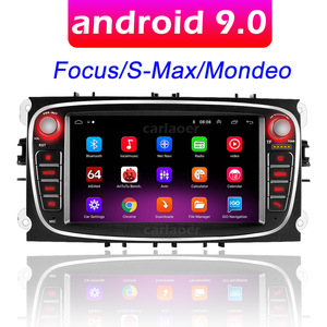 Car Android 9.0 For Ford Focus S-Max Mondeo 9 Galaxy C-Max Radio Multimedia Video Player Navigation GPS NO DVD 2din 2 din 2.5D