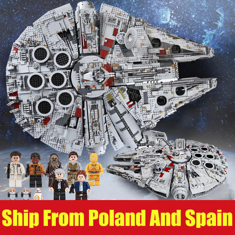DHL 05132 Star Serie Wars Il 75192 Ultimate collector Modello Star Destroyer Building Blocks Mattoni Bambini Giocattoli Regali Di Natale
