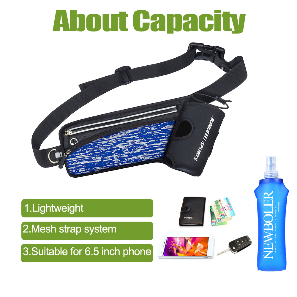 running - Running Marathon Waist Bag Racing Sports Climbing Hiking Gym Fitness Lightweight Hydration Belt Water Flask Hip Waist Pack