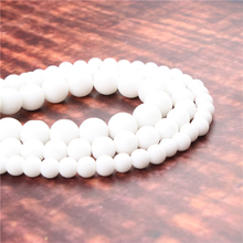 Wholesale Fashion Jewelry Frosted 4/6/8/10 / 12mm Suitable For Making Jewelry DIY Bracelet Necklace
