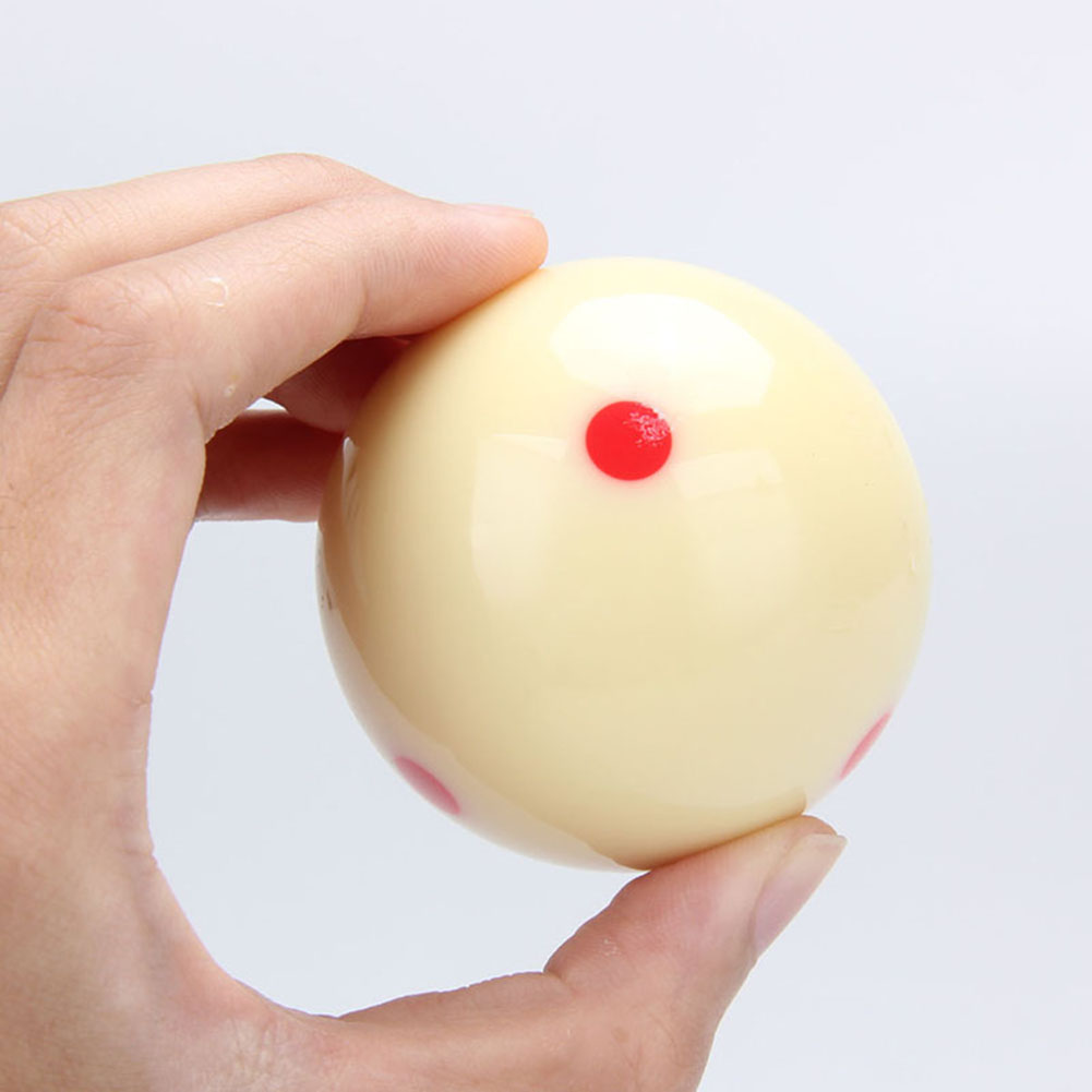 Billiards Practice Training Cue Ball With 6 Red Spots High Hardness International Standard Roundness Balls