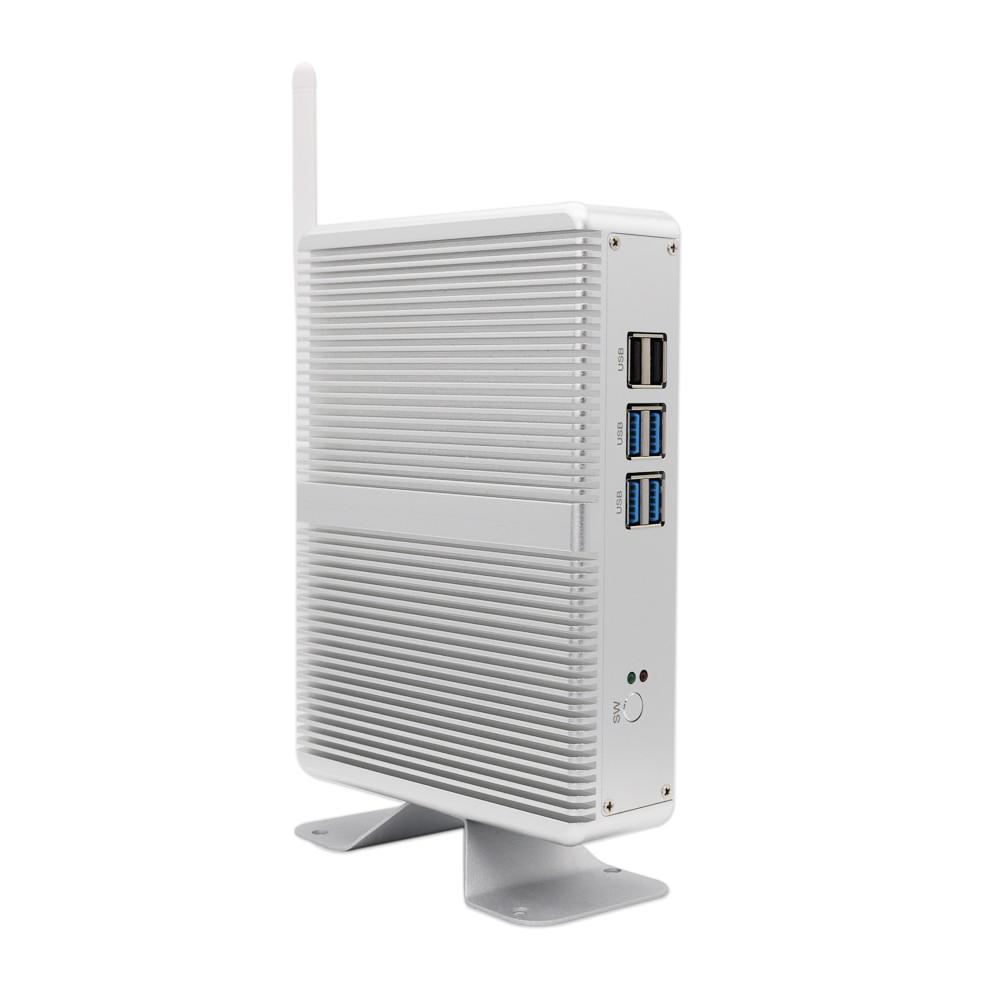 E-Global M3 Mini Pc Intel Core I7 4500U Barebone Fanless Intel HD Graphics 4400 Windows 10 Computer 2.4GHz 4K HTPC WiFi HDMI VGA