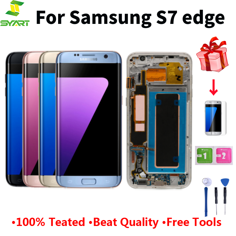 For <font><b>Samsung</b></font> <font><b>Galaxy</b></font> <font><b>S7</b></font> Edge Screen Super AMOLED 5.5