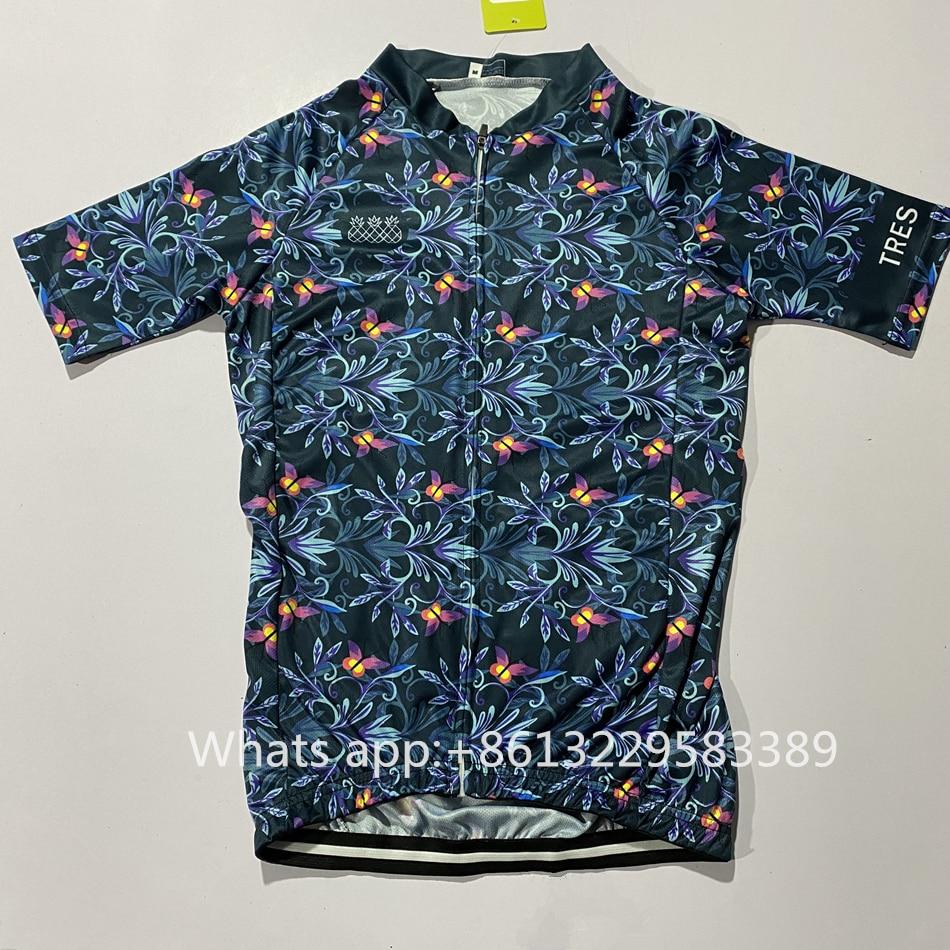camisas manga curta secagem rápida camisa maillot