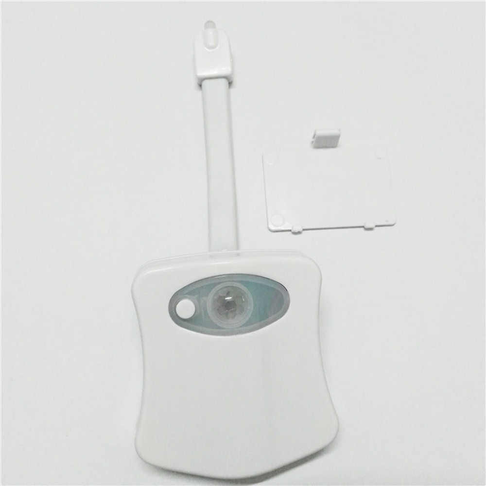 Backlight For Toilet Bowl LED Toilet Light Human Motion Sensor luz WC Light Automatic Activated Bathroom Night Lamp