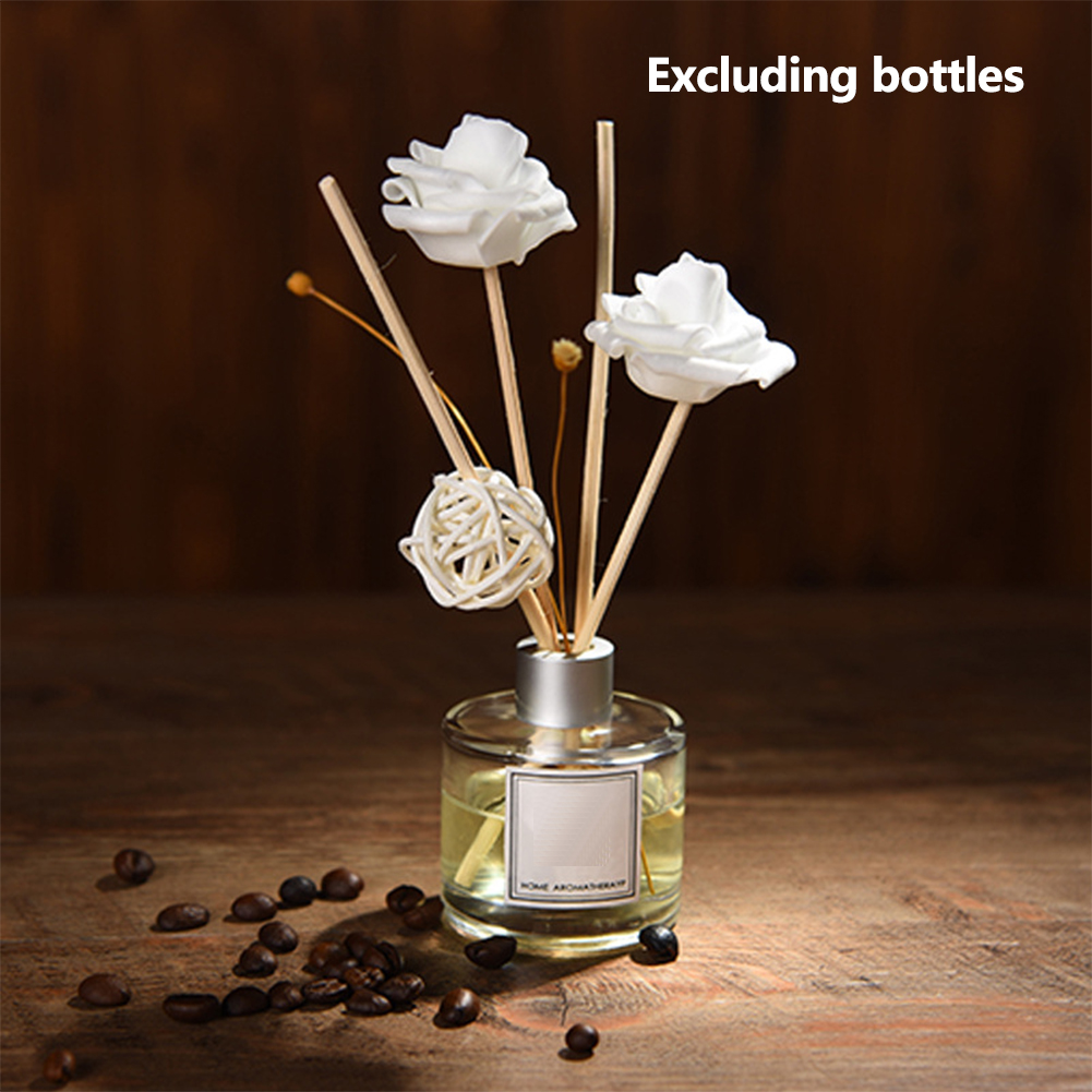 Gift Club Home Decor Natural Office For Fragrance Accessories Aromatic Stick Set Diffuser Replacement Bathroom Party Refill