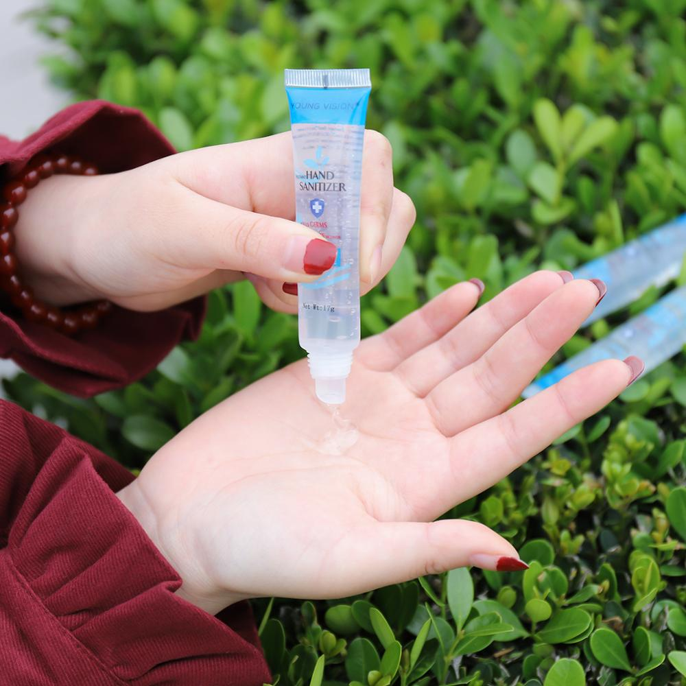 YOUNG VISION hand sanitizer gel hidroalcoholico mini size 17g 70% alcohol wash free hand care gel antibacterial hand gel MN161