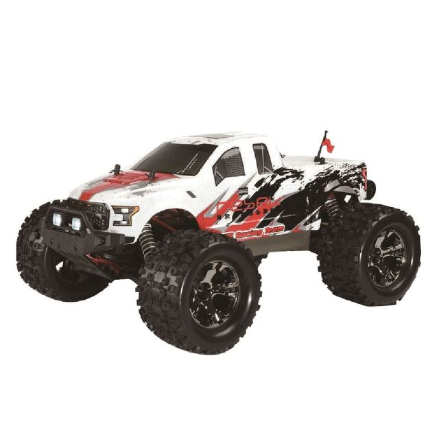 FS Racing 1:10 Bigfoot Car 4WD High Speed Brushless Remote Control Car with Body ESC Motor 2.4G Remote Control - RTR Version 5