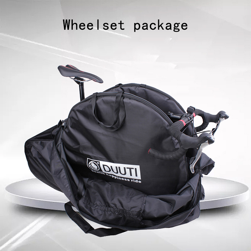 DUUTI Bicycle Wheel Carrying Package Bags Cycling Road MTB Mountain <font><b>Bike</b></font> Single 26/27.5/29 Inch Wheel <font><b>Carrier</b></font> Bag <font><b>Accessories</b></font> image