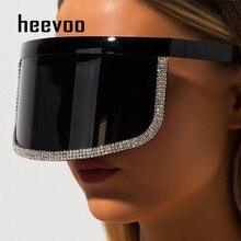 Luxury Large Frame Shield Visor Sunglasses Men Brand Designe