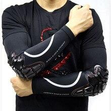 Protezione solare UV manicotti per braccio compressione sportiva raffreddamento manica ghiacciata con gomitiere protezioni antiurto Silicone ad alta elasticità SFK