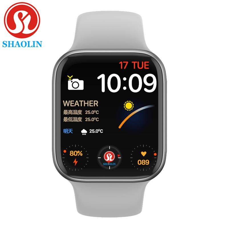 Bluetooth спортивные Смарт-часы серии 6, с экраном сердцебиения, умные часы для Apple Watch часы на Android iOS iphone часы