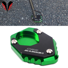 Side Stand Extension For KAWASAKI VERSYS 650 VERSYS650 2015 2020 2021 Motorcycle Accessories Foot Kickstand Enlarge Pad