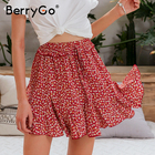 BerryGo Red floral p...