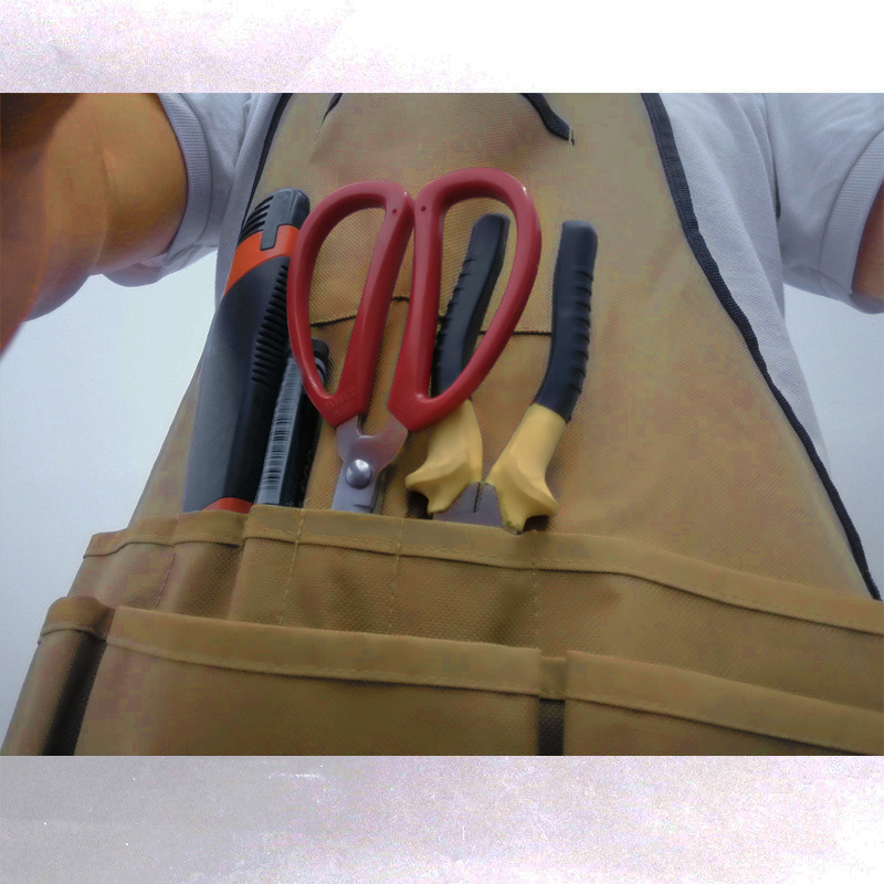 Portable Safety Working Apron Protective Toolkit Bag Holder 60*64cm Convenient