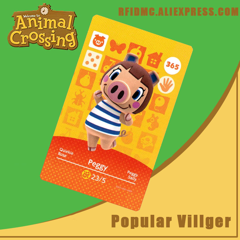 365 Peggy Animal Crossing Card Amiibo For New Horizons