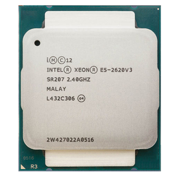 Intel Xeon E5-2620 V3 E5 2620V3 E5-2620 V3 LGA 2011-V3 6 Core 2.40 GHz 15MB 85W CPU Processor P/N: E5-2620V3 1