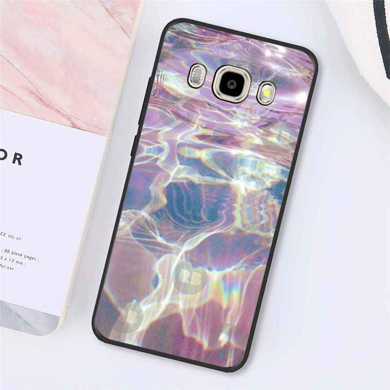 Babaite arcobaleno iridescente olografica nero Cassa Del Telefono Per Samsung Galaxy J7 J6 J8 J4 J4Plus J7 DUO J7NEO J2 J5 prime