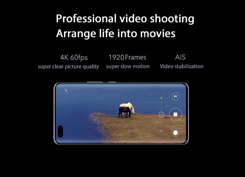 New Arrival Honor 30 Pro 5G Smartphone Kirin 990 6.57'' 40MP Triple Cam IP54 Waterproof Wi-fi 6+ Mobile Phones 40W SuperCharge (10)