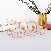 Fashion Rose Gold Tape Racks Nordic ins Tape Cutting Machine Office Supplies Storage Holders Household Storage
