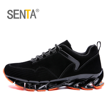 High-quality 2019 New men's Sneakers Breathable Cushioning Men Running Shoes Bre