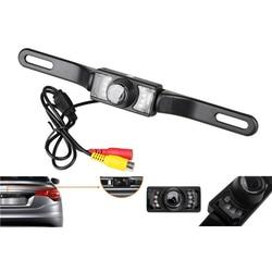 Visão traseira do carro camorder moldura da placa de licença universal hd night vision cor 170 graus backup do carro invertendo câmera