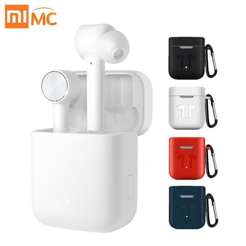 シャオ mi mi Airdots プロ空気 TWS Bluetooth ヘッドセット真のワイヤレスステレオスポーツイヤホン ANC スイッチ ENC 自動一時停止制御  グループ上の 家電製品 からの 電話用イヤホン & ヘッドホン の中 1