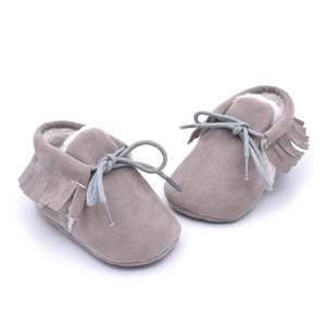 Kids Shoes Boots Fringed Daily-Dress Baby Prewalker Soft Walking Fashion Antiskid Cute