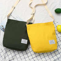 Women's Bag Canvas Large Crossbody Bags For Women 2019 Ladies Handbags Cloth Cotton Shoulder School Book Bag Purse Canta Bayan