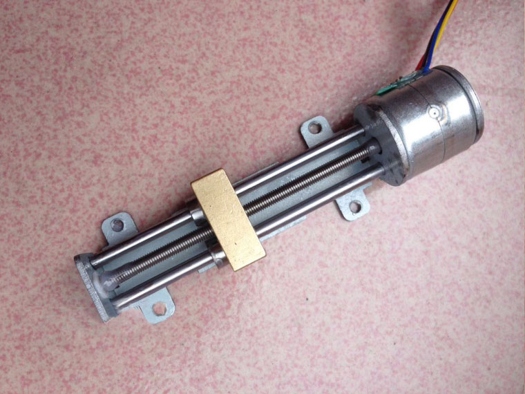 Deslizante do Rolamento Linear do Parafuso Deslizante do Motor Deslizante da Fase da Corrediça do Motor Deslizante Micro 20mm