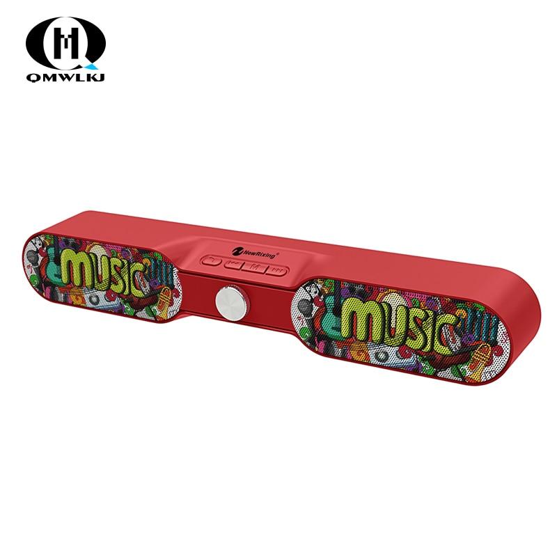 Haut-parleur sans fil Bluetooth 10W bande de Graffiti boîte de son woofer Radio FM Super basse AUX TF haut-parleur Audio home cinéma