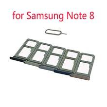 Card-Holder Micro-Sd Samsung Housing Sim-Tray-Adapter Phone for Galaxy Note 8/N950/N950f/..
