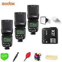 GODOX TT600 TT600S 2.4G 무선 마스터 및 그룹 플래시 Speedlite + X2T 트리거 니콘 캐논 Pentax 올림푸스 Pentax DSLR 카메라