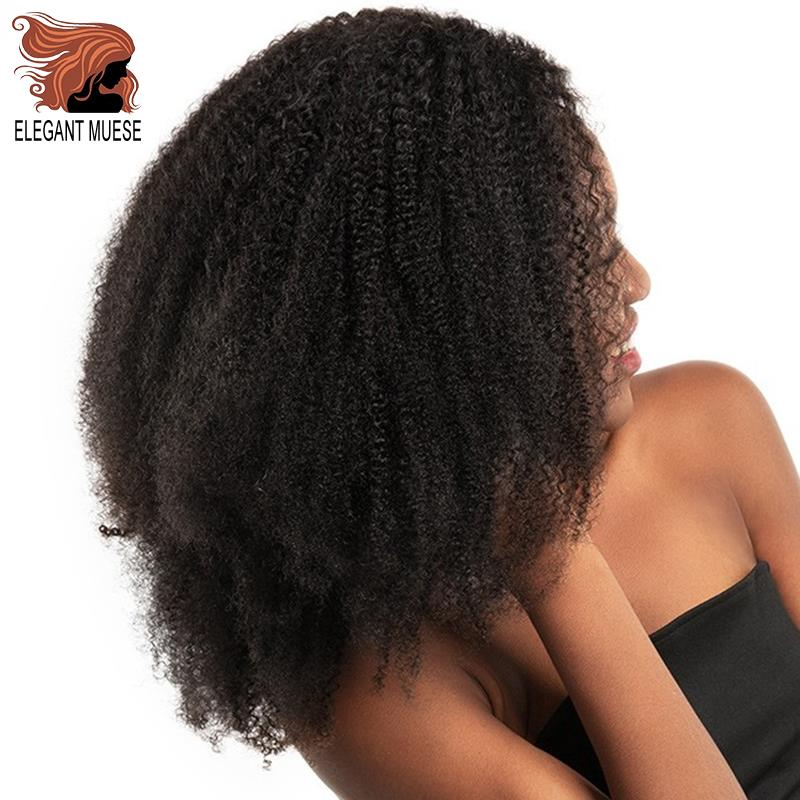 ELEGANT MUSES10inch Afro Marely Braids Hair Twist Crochet Braids Hair Curl Crochet Synthetic Braiding Hair Brown Black Color