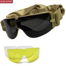 Тактические Солнцезащитные очки x800 в стиле милитари для страйкбола