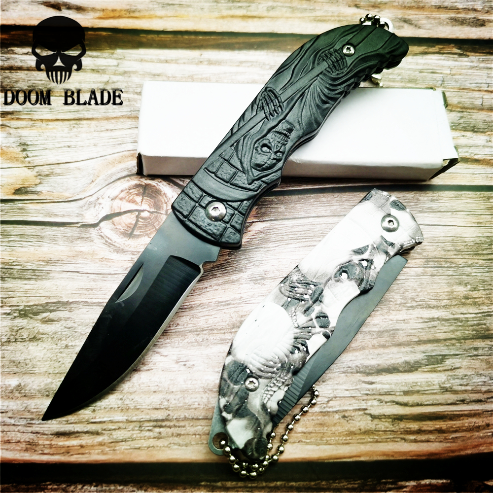 160mm 5CR15MOV Blade Knives Mini Folding Pocket Knife Survival Tactical Multi Functional Stainless Steel EDC Knifes Keychain(China)