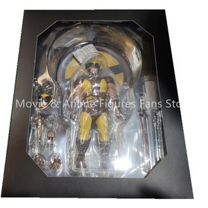 Image 3 - 6 cal Mezco tkaniny x men Wolverine 2 pokoleń figurka pcv ruchome kolekcja zabawki prezenty