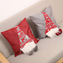 Christmas Pillowcase Rudolph Pillow Cover Gift Supplies Christmas Decorations for Home Without Pillow New Year Navidad