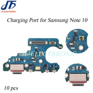 Image 1 - 10 Pcs Nieuwe Poort Opladen Dock Charger Usb Connector Flex Kabel Lint Voor Samsung Note 10 + N970 N970U N970F n976