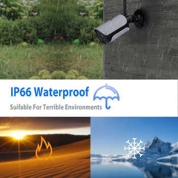 HJT H.265 1080P 2.0MP WIFI IP Camera SD Card Slot P2P CCTV Camera Night Vision Outdoor Waterproof Onvif2.2 Camhi