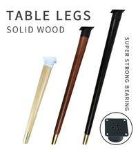 4 pés de madeira do sofá dos pces que inclinam os pés retos do nível da mobília da mesa de café com pés do armário das placas de metal multi-tamanho
