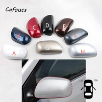 Cafoucs For Toyota Corolla Altis 2008 2013 Focus For Toyota Corolla Altis 2008 2013 RearView Side Mirror Cover Door Mirror Shell