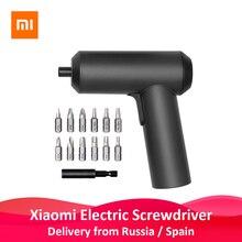 Originele Xiaomi Mijia Elektrische Schroevendraaier Met 12Pcs S2 Schroef Bits 3.6V 2000Mah Draadloze Oplaadbare Elektrische Schroevendraaier
