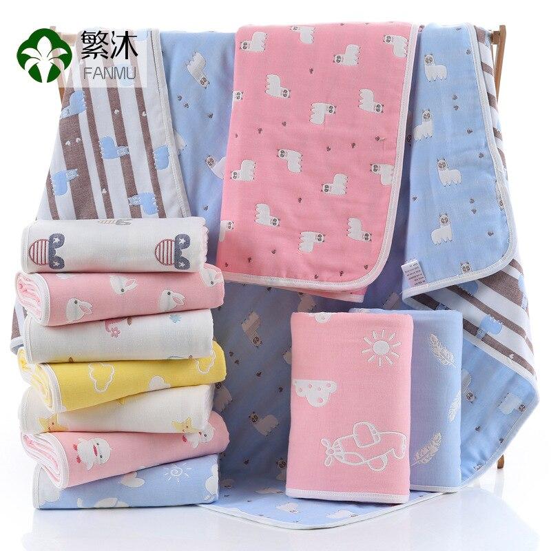 Six-layer Cotton Gauze Children's Quilt Infants Bath Towel Children Towel Blanket Baby BABY'S BLANKET Batch