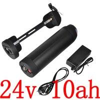 24V 350W Ebike батарея 24V 10AH Электрический велосипед батарея 24V 8Ah 9Ah 10Ah 11Ah 12Ah литиевая батарея с 15A BMS с 2A зарядным устройством